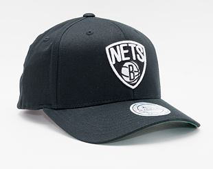 Kšiltovka Mitchell & Ness Brooklyn Nets 537 Team Logo High Crown Black