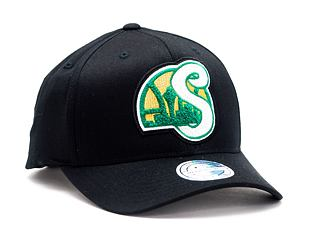 Kšiltovka Mitchell & Ness INTL839 Seattle Supersonics Letterman 110 Snapback