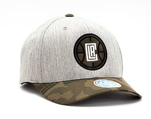 Kšiltovka Mitchell & Ness INTL851 Los Angeles Clippers Heather Camo 110 Snapback