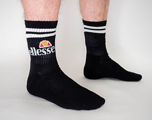 Balení Ponožek Ellesse Pullo 3Pack USHEW002AS Black