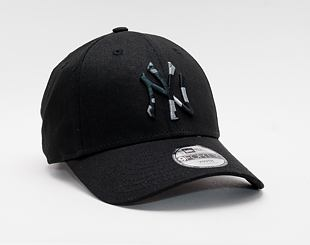 Dětská Kšiltovka New Era 9FORTY Kids MLB Camo Infill New York Yankees Strapback Black