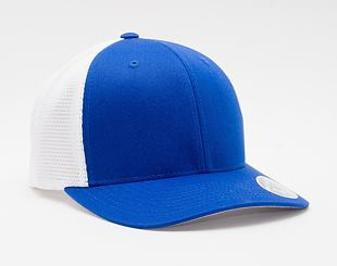 Kšiltovka Flexfit 110 Mesh Trucker Royal/White