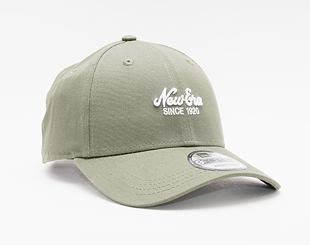 Kšiltovka New Era 9FORTY Heritage  Strapback New Olive / Optic White