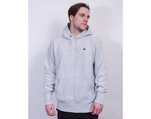 Mikina Champion Hooded Sweatshirt 214675 LOXGM Grey