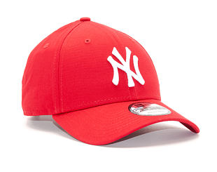 Kšiltovka New Era League Basic New York Yankees Scarlet/White 9FORTY Strapback