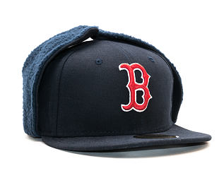 Kšiltovka s klapkami New Era Leagbas Dog Ear Boston Red Sox Team Colors Dog Ear