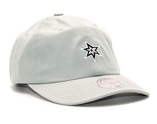 Kšiltovka Mitchell & Ness Elements Dad Hat San Antonio Spurs Grey Strapback