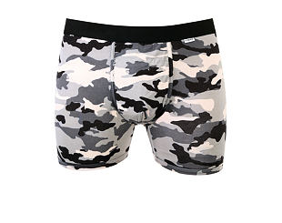 Boxerky MyPakage Weekday Trunk Snow Camo/Black