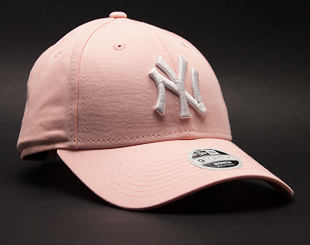 Dámská Kšiltovka New Era League Essential New York Yankees 9FORTY Pink Strapback
