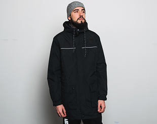 Zimní Bunda New Era NTC Parka Oakland Raiders Black