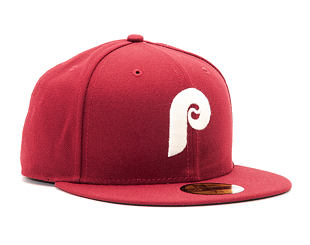 Kšiltovka New Era Classic Philadelphia Phillies 59FIFTY Maroon