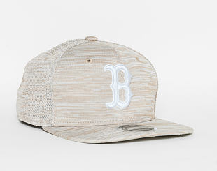 Kšiltovka New Era   Original Fit Engineered Fit Boston Red Sox 9FIFTY ORIGINAL FIT  Stone / Optic Wh