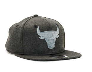 Kšiltovka New Era Original Fit Concrete Jersey Chicago Bulls 9FIFTY Black/Heather Gray Snapback