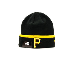 Kulich New Era Team Cuff Knit Pittspurgh Pirates Official Team Colors