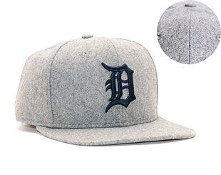 Kšiltovka New Era 9FIFTY Detroit Tigers Winter Utility Melton Grey/Navy Snapback