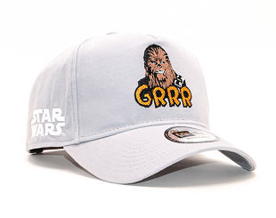 Kšiltovka New Era 9FORTY A-Frame Star Wars Chubacca Gray Snapback