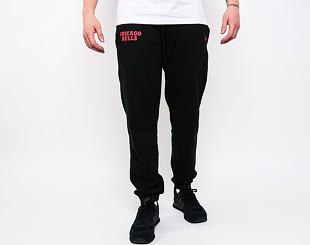 Tepláky New Era Chicago Bulls Stripe Rib Jogger Black