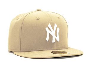 Kšiltovka New Era 59FIFTY New York Yankees Seasonal Camel