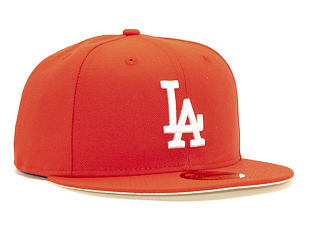 Kšiltovka New Era 59FIFTY Los Angeles Dodgers League Essential Fade Red