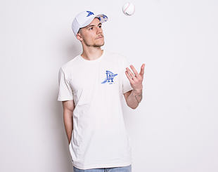 Triko New Era Los Angeles Dodgers Island Logo White