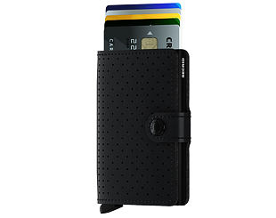 Peněženka Secrid Miniwallet Perforated Black