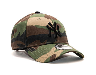 Kšiltovka New Era 9FORTY MLB League Basic New York Yankees Strapback Camo