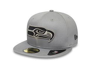 Kšiltovka New Era 59FIFTY Seattle Seahawks Team Tonal Gray/Storm Grey
