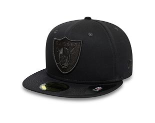 Kšiltovka New Era 59FIFTY Oakland Raiders Team Tonal Grey Heather
