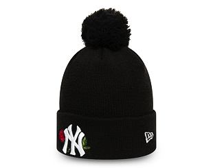 Dámský Kulich New Era New York Yankees Twine Bobble Knit Black