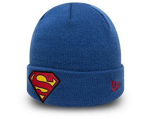 Kulich New Era Superman Character Cuff Knit OTC Youth