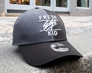 Kšiltovka New Era 9FORTY Colour Block Fresh Ego Kid Black/Grey