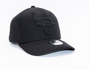Kšiltovka New Era 9FIFTY Chicago Bulls Stretch Snap Tonal Black