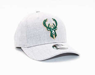 Kšiltovka New Era 9FIFTY Milwaukee Bucks Stretch Snap Heather Base