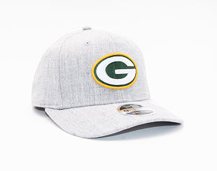 Kšiltovka New Era 9FIFTY Green Bay Packers Stretch Snap Heather Base