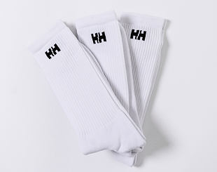 Ponožky Helly Hansen 3-Pack Cotton Socks 001 White