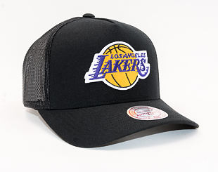 Kšiltovka Mitchell & Ness Los Angeles Lakers 602 Team Logo Classic Trucker