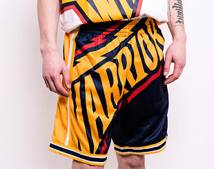 Kraťasy Mitchell & Ness Golden State Warriors Big Face