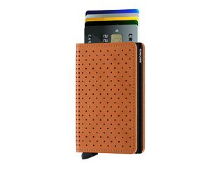 Peněženka Secrid Slimwallet Perforated Cognac