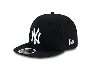 Dětská kšiltovka NEW ERA 59FIFTY Kids MLB League Basic New York Yankees Fitted Black / White