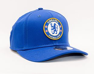 Kšiltovka New Era 9FIFTY Stretch Snap Basic Logo Chelsea FC Lion Crest Calming Blue