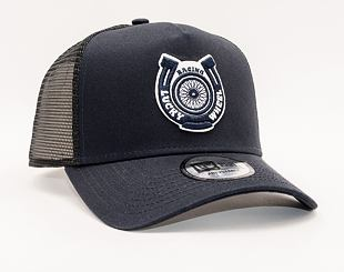 Kšiltovka New Era 9FORTY A-FRAME Trucker Motosport Navy