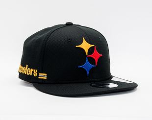 Kšiltovka New Era 9FIFTY NFL20 Sideline Home Pittsburgh Steelers Snapback Team Color