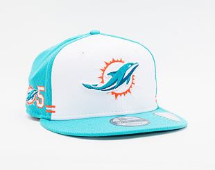 Kšiltovka New Era 9FIFTY NFL20 Sideline Home Miami Dolphins Snapback Team Color