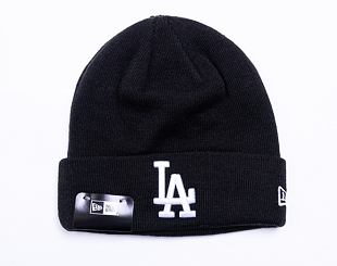 Kulich New Era Essential Cuff Knit Los Angeles Dodgers Black / Optic White