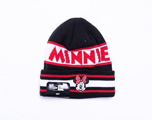 Dětský kulich New Era Kids Disney Character Knit Minnie Mouse Black