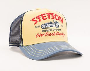 Kšiltovka Stetson Trucker Cap Dirt Track Racing Yellow/Blue 7751154