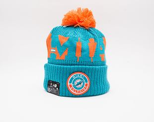 Kulich New Era NFL 20 On Field Sport Knit Miami Dolphins Team Color