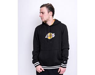 Mikina New Era Varsity detail Hoody Los Angeles Lakers Black