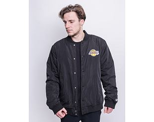 Bunda New Era Team Logo Jacket Los Angeles Lakers Black