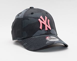 Dětská Kšiltovka New Era 9FORTY Kids MLB All Over Camo New York Yankees Strapback Moonland Camo